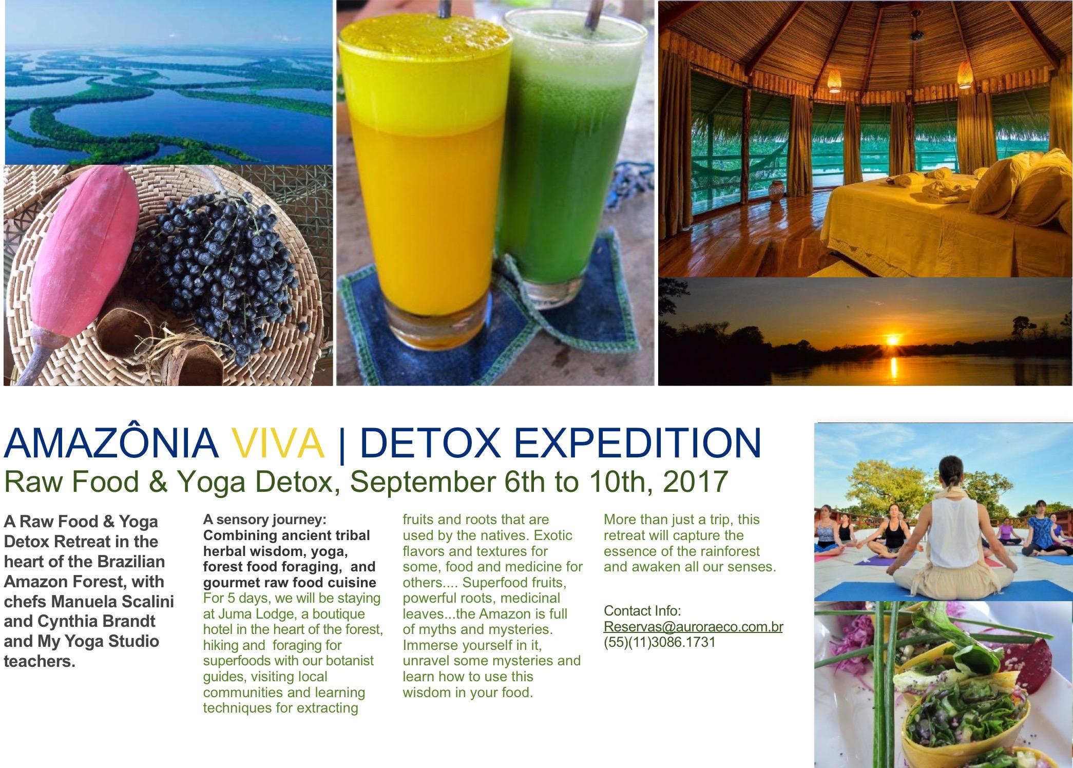 amazon raw food detox retreat : Manuela Scalini